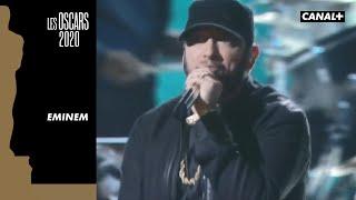 """Eminem déclenche une standing ovation en interprétant la chanson """"Lose Yourself"""" - Oscars 2020"""