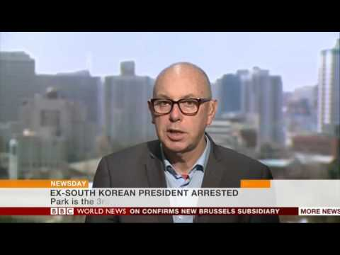 BBC World News Newsday - Ex-South Korean president arrested