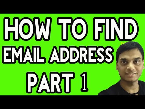 Find email address using gmail | Email permutator is easy way to find email | Hindi