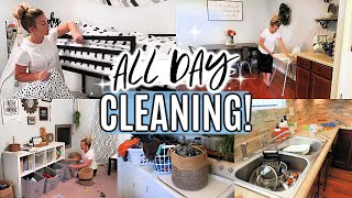 ALL DAY CLEAN WITH ME 2019 | WHOLE HOUSE CLEANING | EXTREME CLEANING MOTIVATION | SAHM