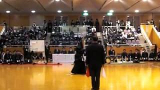 先鋒戦_上岡選手(環太平洋)vs志村選手(松大)