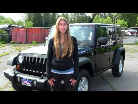 Virtual Walk Around Tour of a 2008 Jeep Wrangler Unlimited Rubicon at Milam Truck Country in Puyallu