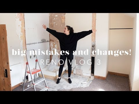 FLOORBOARD DISASTER & BATHROOM REMOVAL! RENO VLOG 3