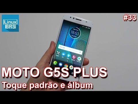 Motorola Moto G5S Plus - Toque padrão (MP3) e Galeria (Álbum)