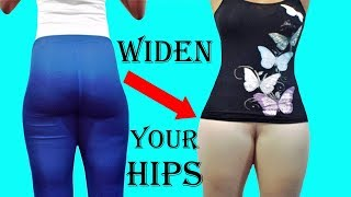 How to Get Bigger hips|3 Easy Exercises for Wider Hips | FIX YOUR HIP DIPs & widen hips Muscles