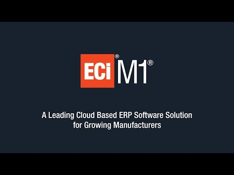 M1 Cloud based ERP for growing manufacturers