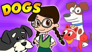 Dog Facts! - All About Dogs! | Nikki's Wiki | Wikki for Kids at Cool School