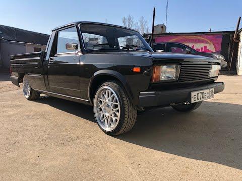 ВАЗ /Lada пикап на R17, двигатель 16 клапанов и автозвук на 25 тыс. рублей