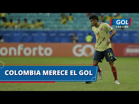 La mejor fue de Luis Díaz: opción clara de Colombia para irse arriba en el marcador contra Venezuela