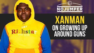 Xanman on Growing Up around Guns, What it's like Getting White Fans