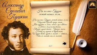 Стихотворение А С Пушкин На холмах Грузии лежит ночная мгла Стихи Русских Поэтов Аудио Стихи