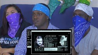 Nerf John Wick Reaction