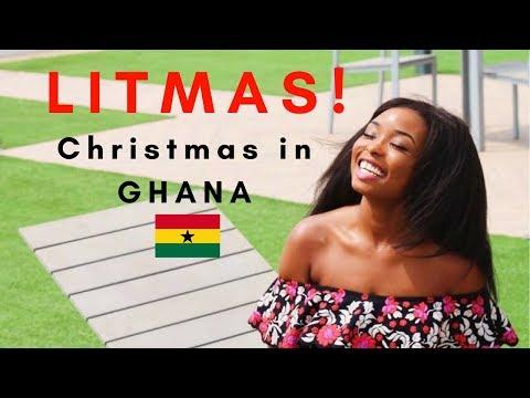 VLOG  Christmas In GHANA 🇬🇭 = LITMAS 🔥