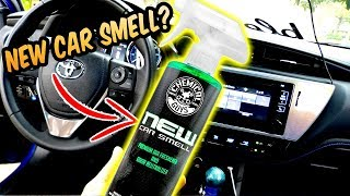 $10 NEW Car Smell? Air Freshener from Chemical Guys