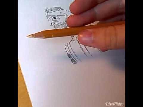 Comment dessiner un squelette tatou youtube - Dessiner un squelette ...