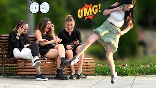 🔥Tripping Over Nothing Prank- AWESOME REACTIONS -Best of Just For Laughs 😲🔥