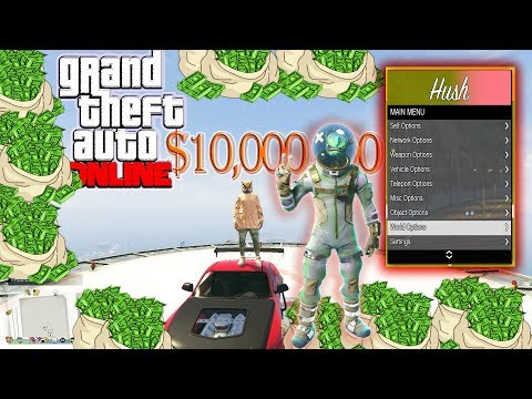 GTA 5 Online 1.46 PC Mod Menu - Hush W/ Stealth Money+Hacks(FREE DOWNLOAD)