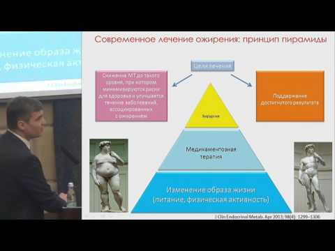 Секционное заседание 6. Халимов Ю.Ш., «Эффективная терапия ожирения. .. »