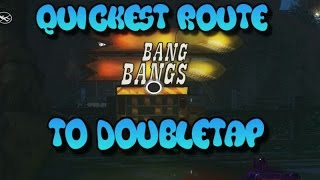 Quickest Route to DoubleTap (Bang Bangs) Zombies in Spaceland!