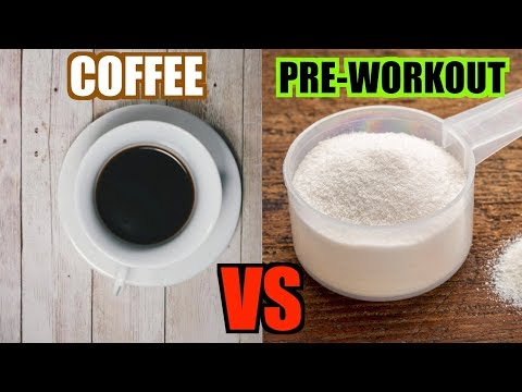 Coffee VS Pre-Workout | Nutrition Battle | Caffeine! Nutrients!
