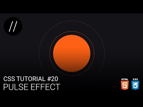 CSS Tutorial #20 — Pulse Effect [UP/TO/DATE] thumbnail