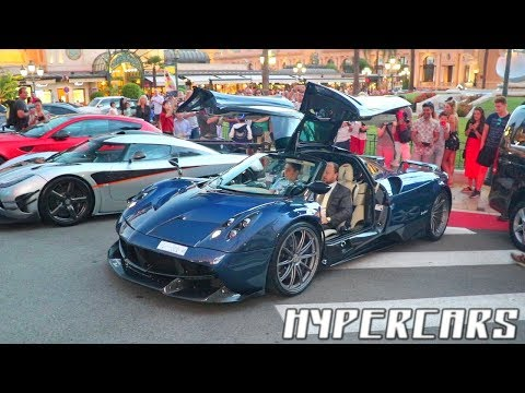 CRAZY NIGHT OF CARS SPOTTING in MONACO !!!