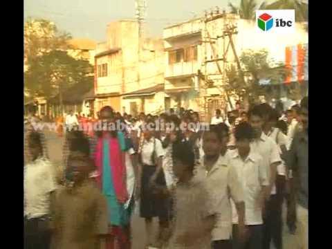 indian school children raly