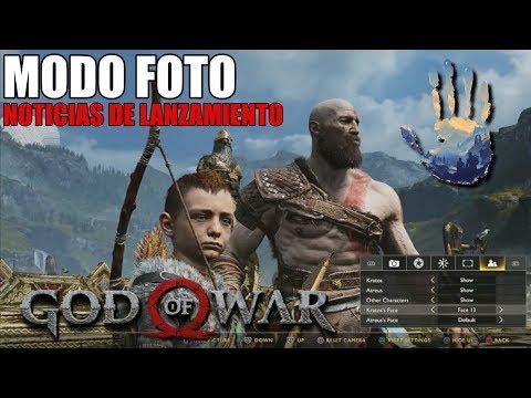 MODO FOTO | ULTIMAS NOTICIAS DE LANZAMIENTO | GOD OF WAR