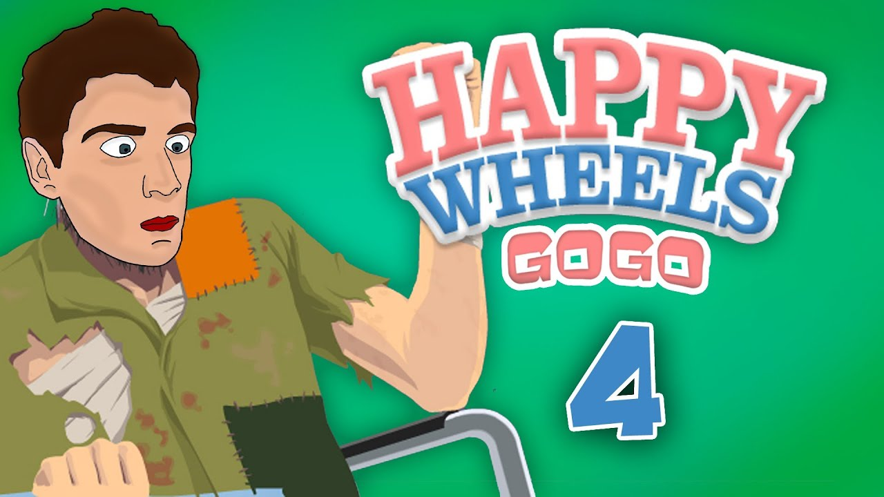 Happy Wheels - [GoGo] - Part.4 - [Slovensky] - YouTube