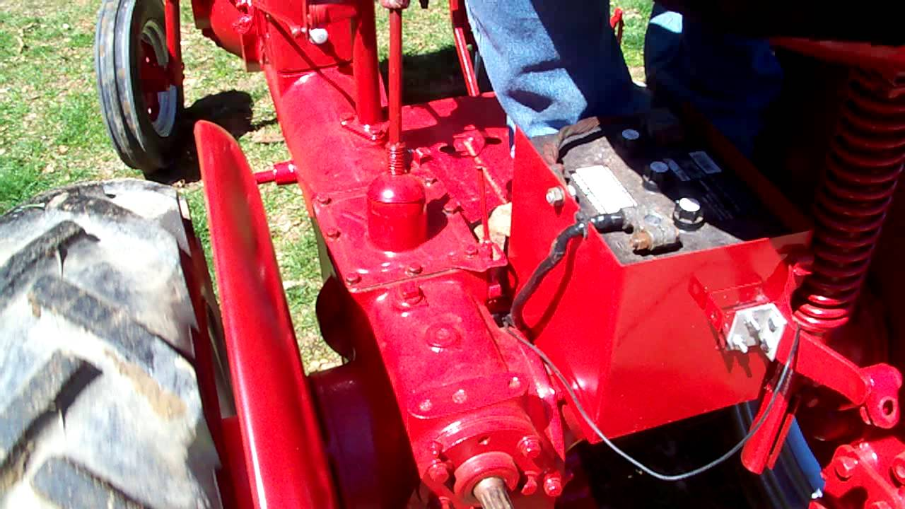 farmall cub noisy transmission