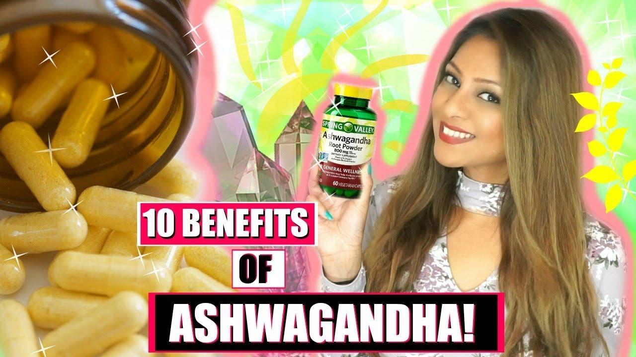 Best 10 BENEFITS OF TAKING ASHWAGANDHA! │POWERFUL FOR