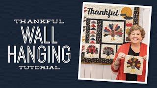 Een Dankbaar Muur Opknoping met Jenny Doan van Missouri Sterren