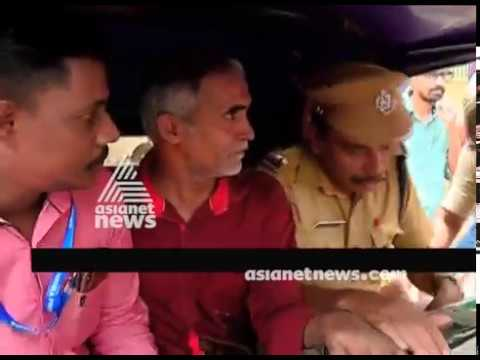 Krishnan Nair who threatened CM on FB Live in Kerala Police custody