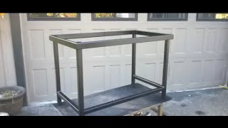 Steel Tube Table Frame Fabrication (Part 2 of 2)