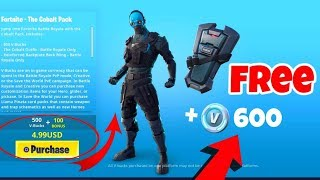 *Buying* COBALT Starter Pack in Fortnite with FREE V Bucks included
