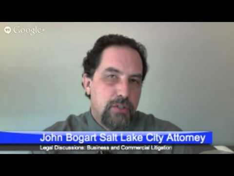 Attorney John Bogart on Business Litigation the Advantages of Filing in State or Federal Courts
