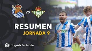 Resumen de Real Sociedad vs Real Betis (3-1)