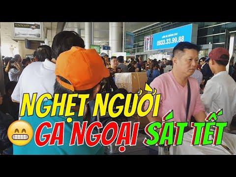 30 Tết SÂN BÂY TÂN SƠN NHÂT chật kín người  |  Guide Saigon Food