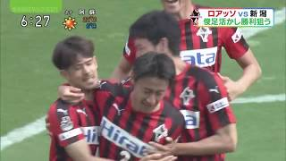2018 J2第7節ロアッソ熊本×アルビレックス新潟 ローカルニュースまとめ #roasso