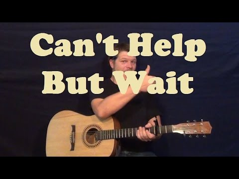 Cant Help But Wait Trey Songz Easy Guitar Lesson How To Play