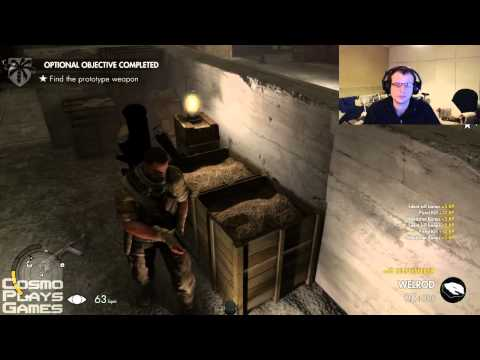 Sniper Elite III DLC - Playthrough - Save Churchill: Belly Of The Beast - Pt 2 |