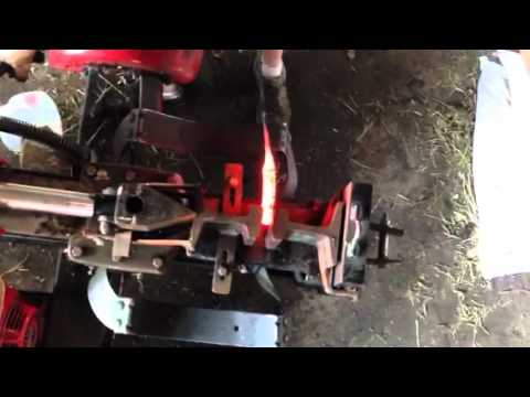 Harbor Freight Log Splitter Forge Press