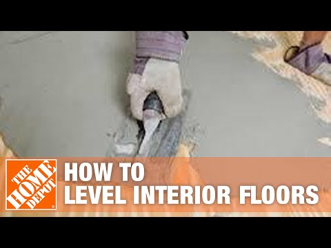 How to Level Interior Floors with Sakrete B 1 Trowel Grade Leveler     How to Level Interior Floors with Sakrete B 1 Trowel Grade Leveler   The Home  Depot   YouTube
