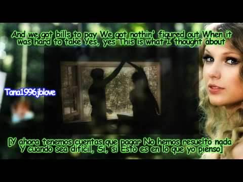Taylor Swift - Mine [Lyrics - Traducida Al Español][Music Video] HD