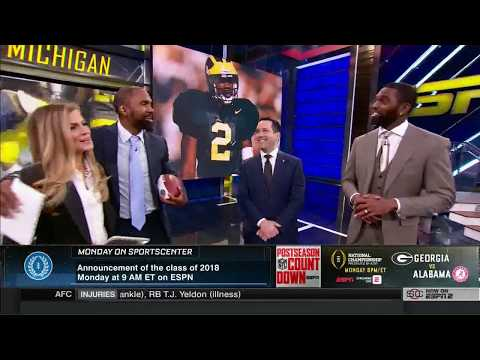 Charles Woodson Announced as Member of 2018 College Football Hall of Fame Class