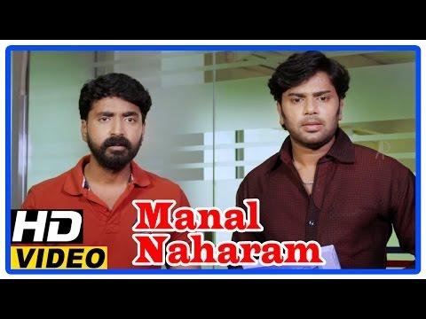 Manal Naharam Tamil Full Movie | Scenes | Goutham Krishna Attends  Interview | Prajin | Thanishka