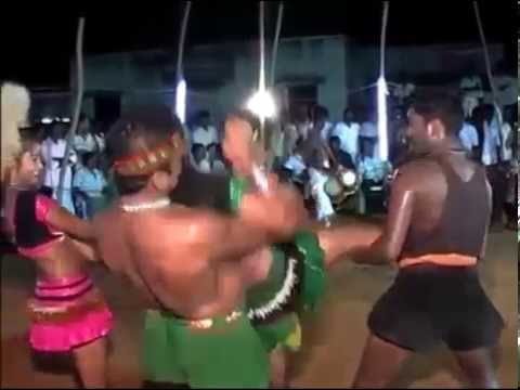 Karakattam Kuravan Kurathi very hot midnight dance part17