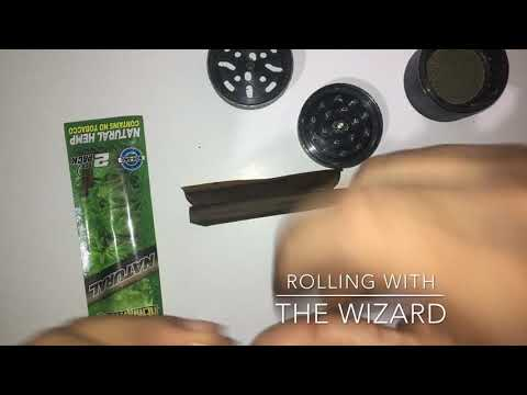 How to roll a Juicy Hemp Wrap and get it to stick without cigar glue
