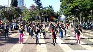 FLASH MOB - DIA DE EVANGELIZAÇÃO GLOBAL - UBERLÂNDIA-MG