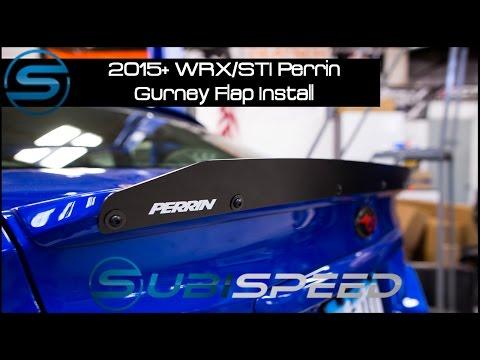 Subispeed - 2015 WRX/STI Perrin Gurney Flap Install